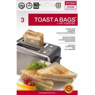 Sacchetti riutilizzabili per toast