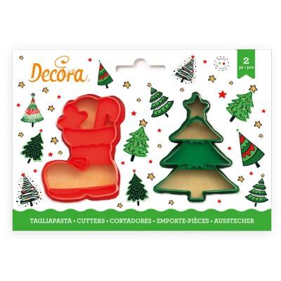Set tagliapasta scarpone portadoni e albero di Natale