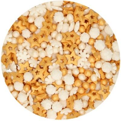 Mix confetti decorativi metallizzati - Gold medley
