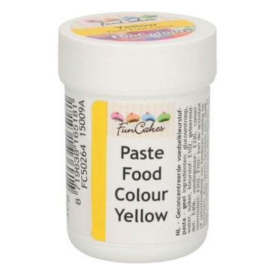 Colorante alimentare in pasta Funcakes - giallo