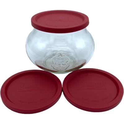 Coperchi in plastica per vasetti Weck