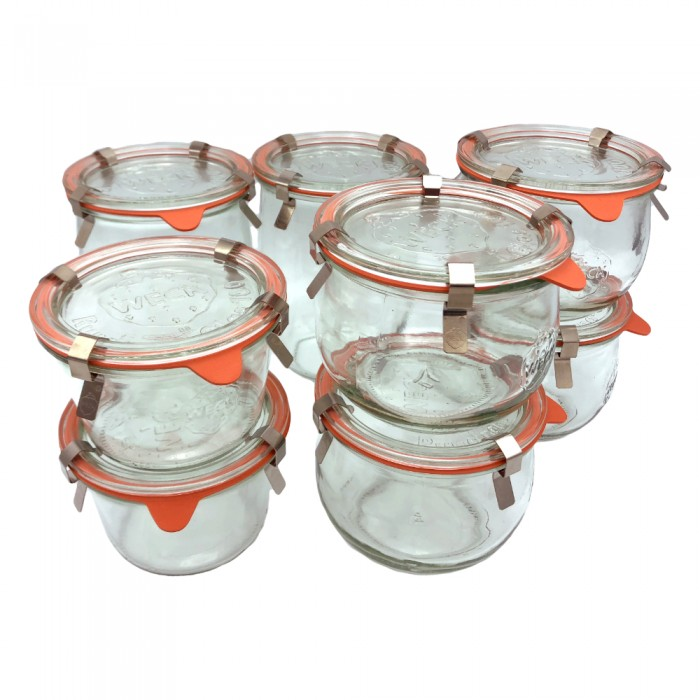 Starter kit vasetti Weck per vasocottura
