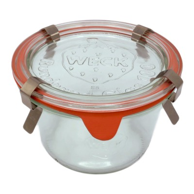 Vasetto Weck in vetro serie Droit - 370 ml