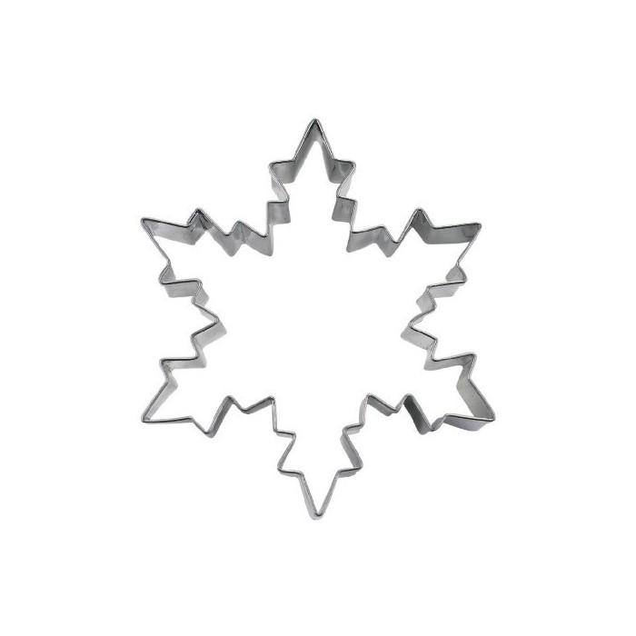 Tagliapasta a fiocco di neve in acciaio
