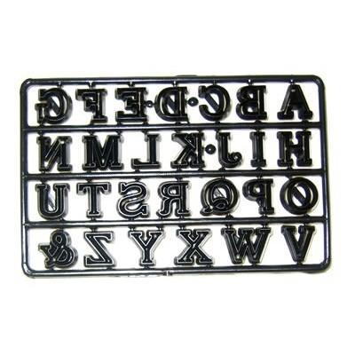 Tagliapasta lettere alfabeto maiuscolo