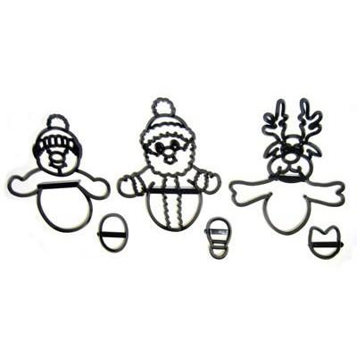 Tagliapasta pupazzi natalizi