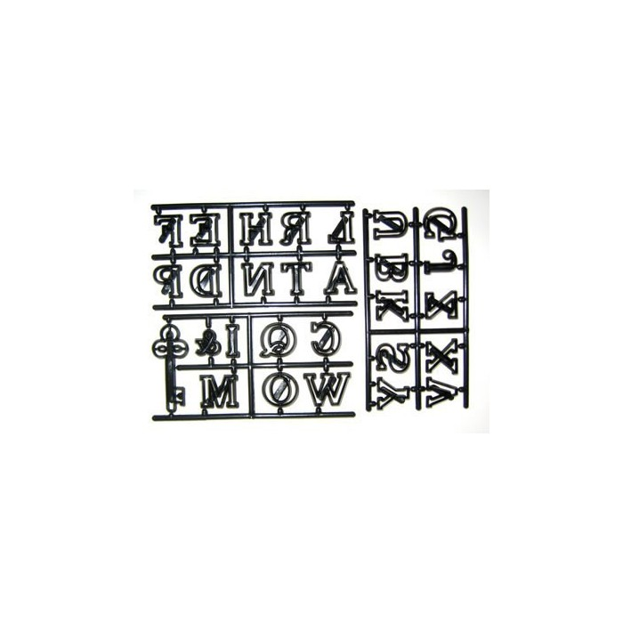 Tagliapasta lettere alfabeto maiuscolo grande