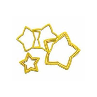 Set n. 6 tagliapasta stelle Wilton
