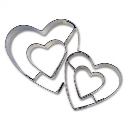 Tagliapasta a doppio cuore