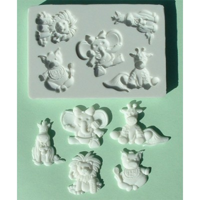 Stampo in silicone baby animals