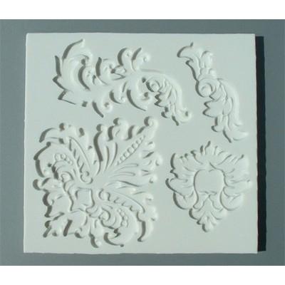 Stampo in silicone per decoro barocco
