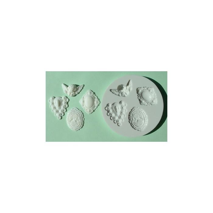 Stampo in silicone cammeo classico