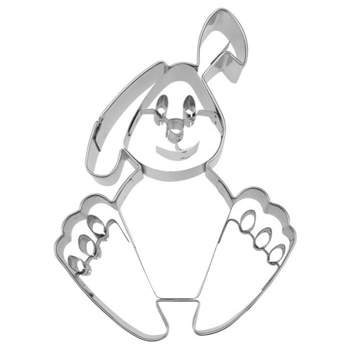 Tagliapasta a coniglietto con rilievo in acciaio