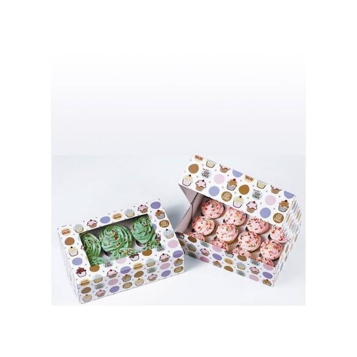 Set scatole per cupcake