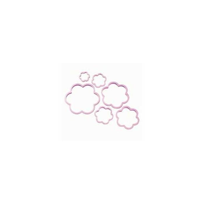Set n. 6 tagliapasta fiore Wilton
