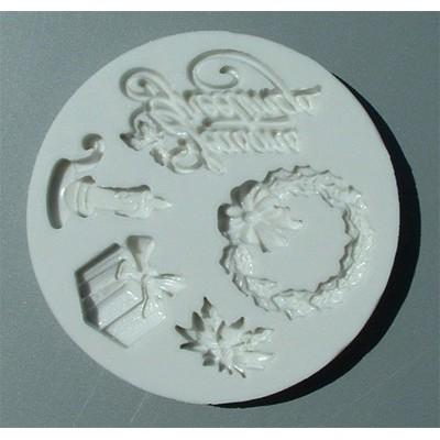 Stampo in silicone Natale