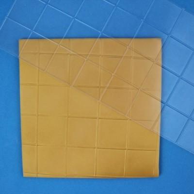 Tappeto PME in rilievo effetto quadrato