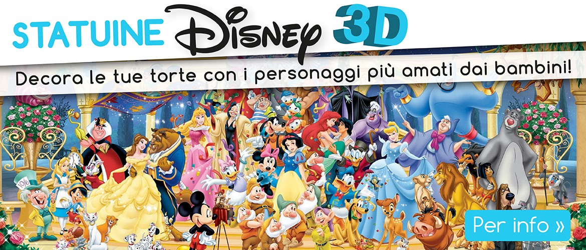 Nuove statuine decorative Disney